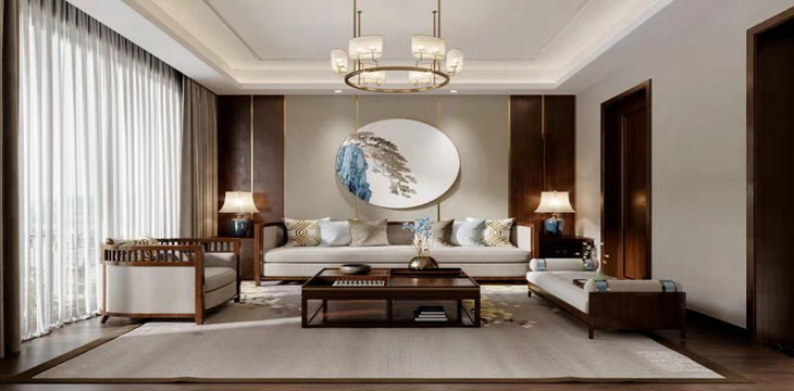 中式风格:深厚的文化底蕴,实在、含蓄、内敛、大气